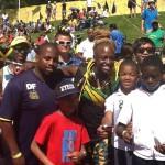 Delton meeting JA athletes