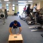 Josh in gym
