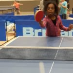 Table tennis action 1